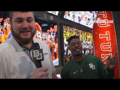 Baylor Football: Coleman & Drango Tour College Football Hall of Fame