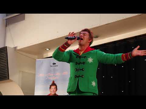 ELF The Musical - Trafford Centre Food Court Performance with Ben Forster and Liz McClarnon