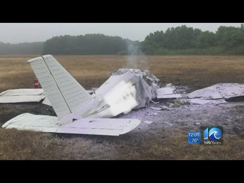 One dead in plane crash near Chesapeake airport