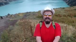 Казахстан, Большое Алматинское Озеро,обзор, панорама, Kazakhstan,BIG ALMATY'S LAKE, review, panorama