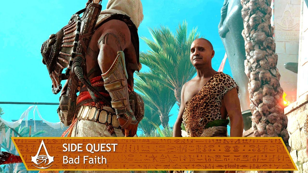 ****assin's Creed Origins - Side Quest - Bad Faith