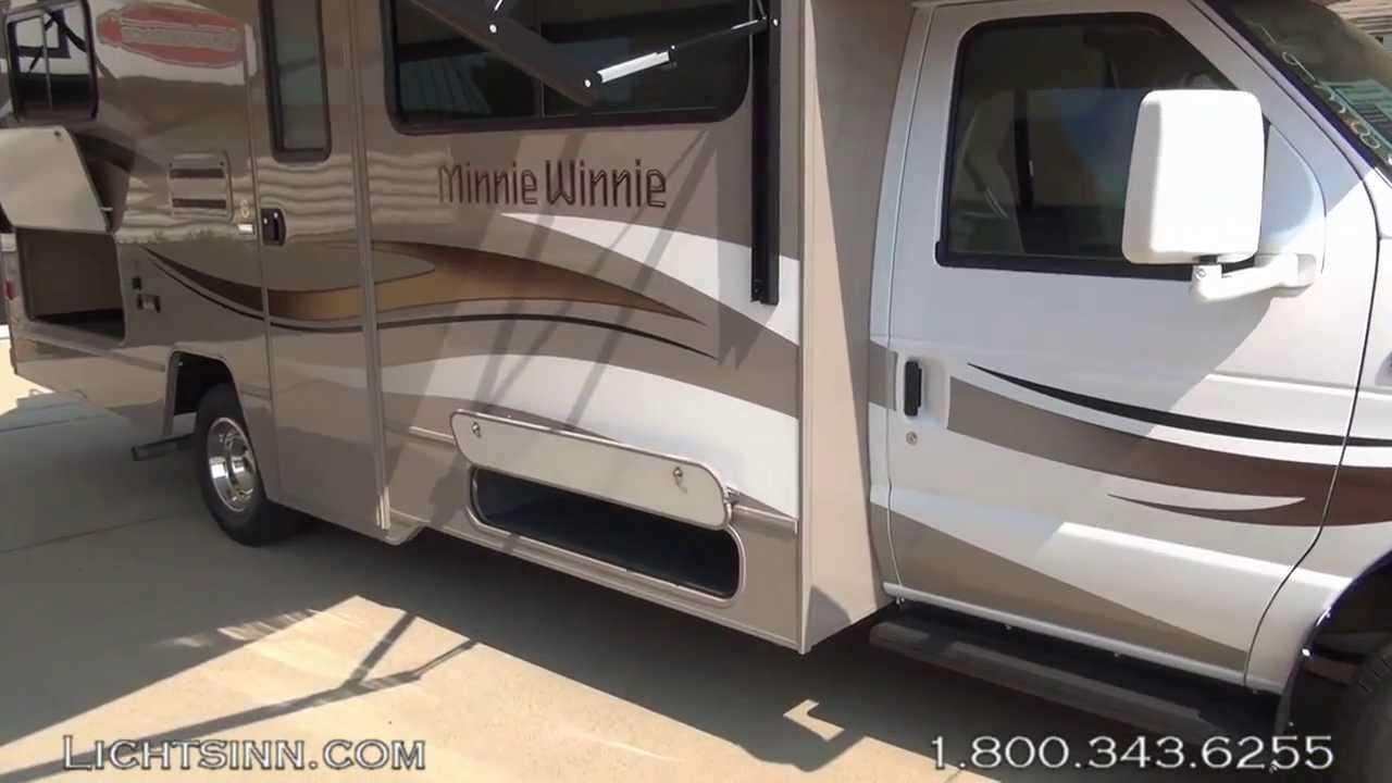 Lichtsinn com - New 2014 Winnebago Minnie Winnie 25B Motor Home Class C