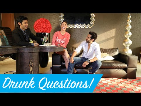 DRUNK QUESTIONS With Jackky Bhagnani and Lauren Gottleib! - Feelings With Kanan