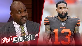 Is OBJ's constant whining a problem for Browns? Wiley weighs in | NFL | SPEAK FOR YOURSELF