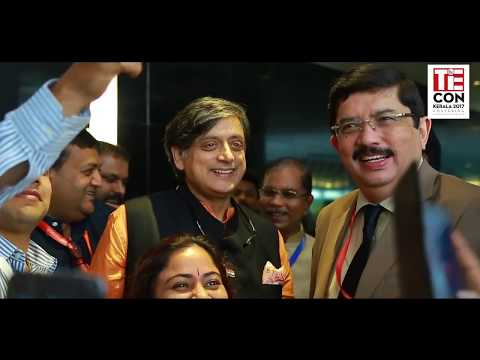 Dr Shashi Tharoor, Member of Parliament at Inaugural Ceremony of TiECON KERALA 2017