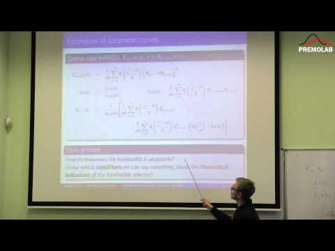 Stefan Richter: Cross validation for linear locally stationary processes. Feb 26, 2015