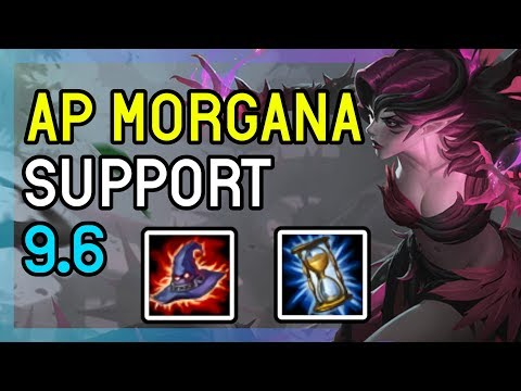 9.6 AP MORGANA SUPPORT DIAMOND - LEAGUE OF LEGENDS thumbnail