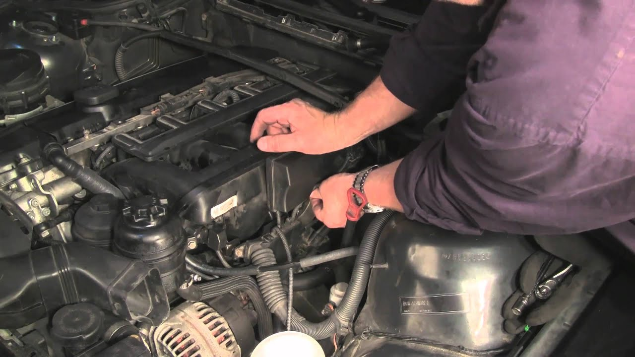 Replacing The Bmw M54 Crankcase Ventilation System Part 3