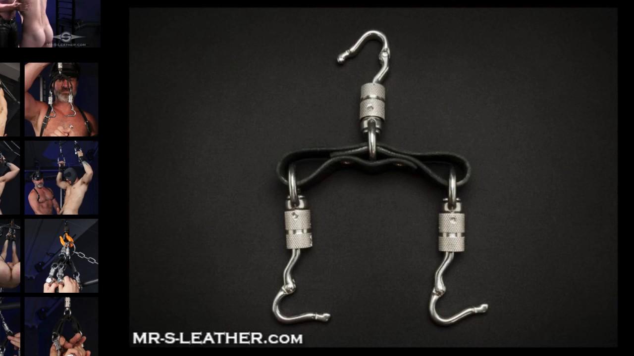 Mr S Leather Suspension Hand Slings For Wrist Bondage