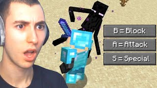 I Beat Minecraft With Realistic Combat