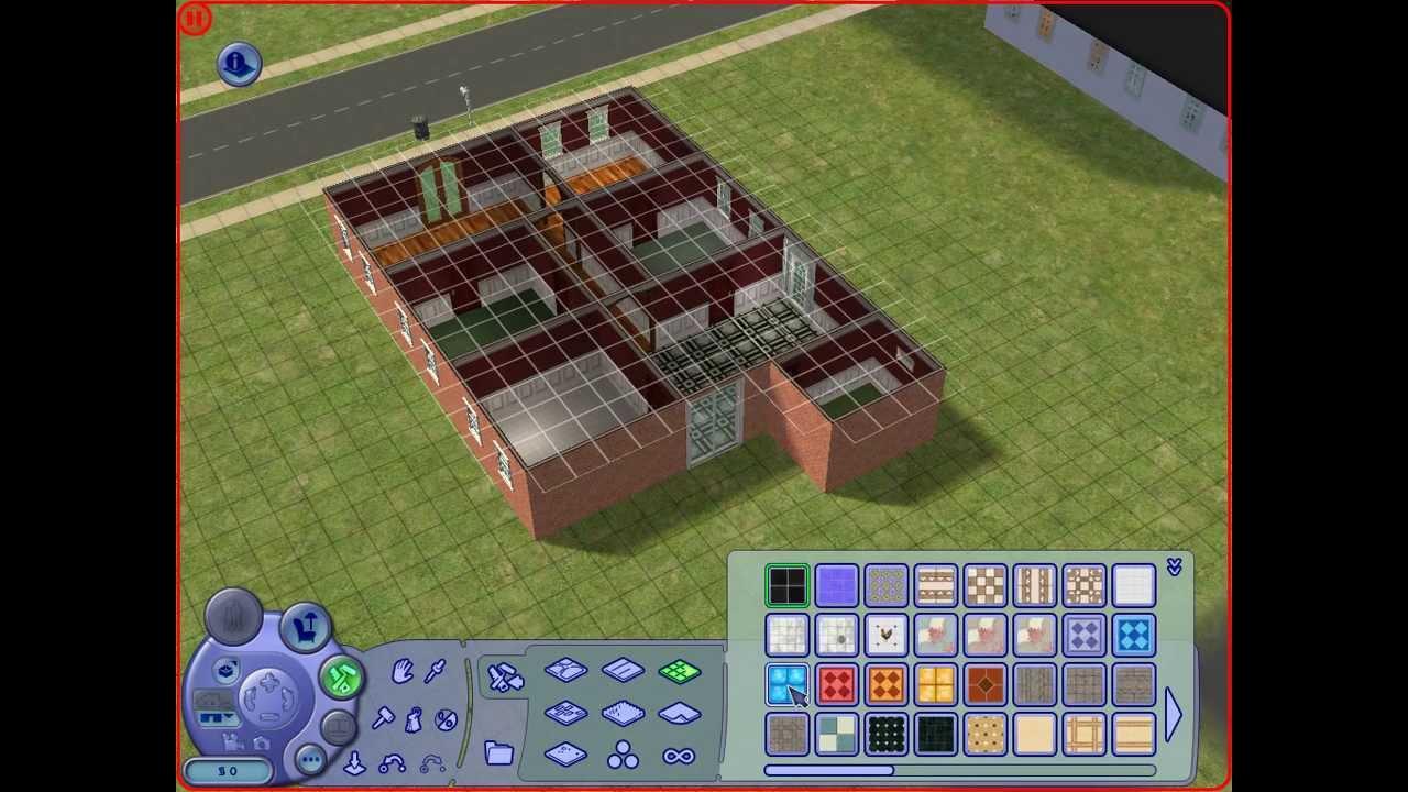 Como construir uma casa no the sims 2 youtube for Construir casas