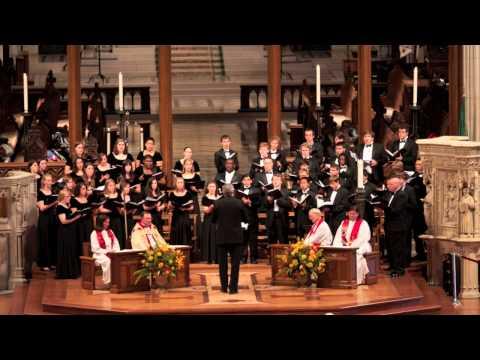 Past Three A Clock, Charles Wood. Roanoke College Choir. Director, Jeffrey Sandborg.