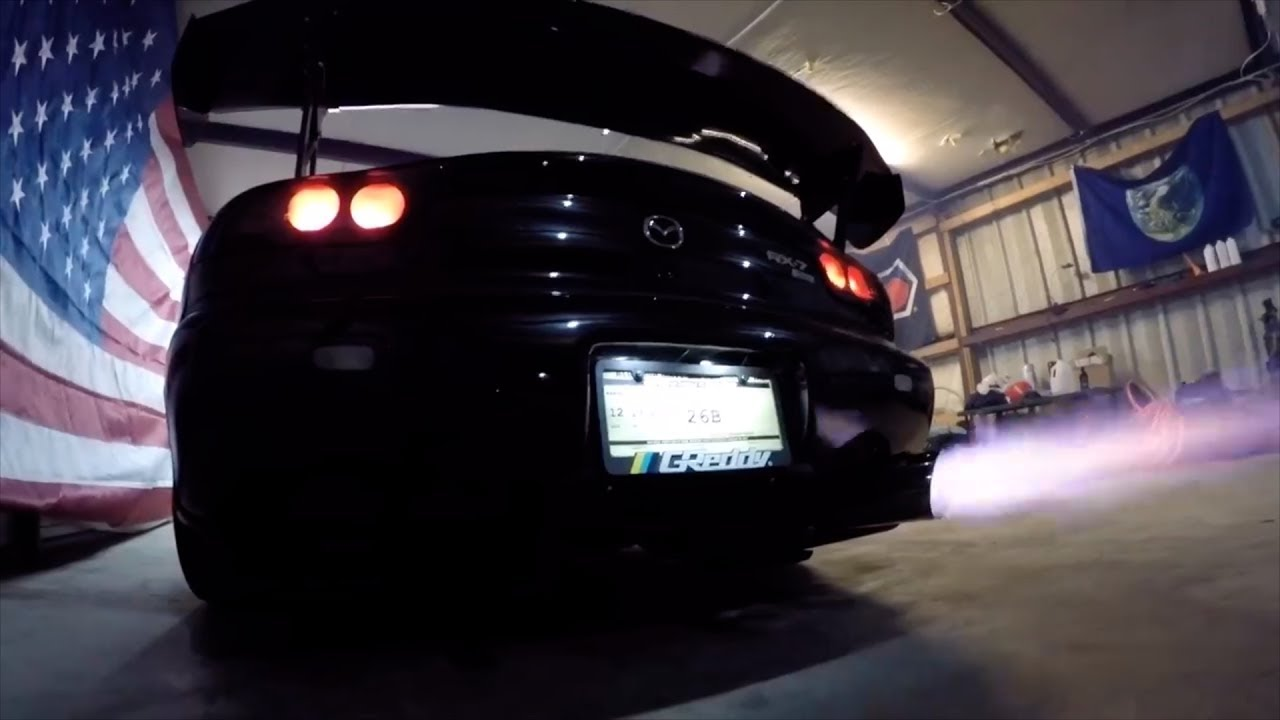 This Turbo 4 Rotor 26B Mazda RX7 Was Built In A Storage Container | Formula  Seven | Rotary Heaven