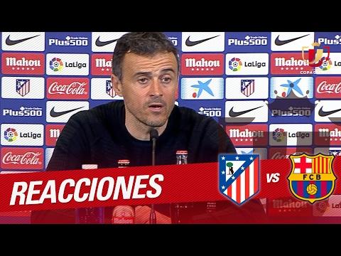 Rueda de prensa de Luis Enrique tras el Atlético de Madrid vs FC Barcelona (1-2)