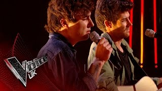 Gambar cover Into The Ark perform 'Burning Love': Blind Auditions 1 | The Voice UK 2017