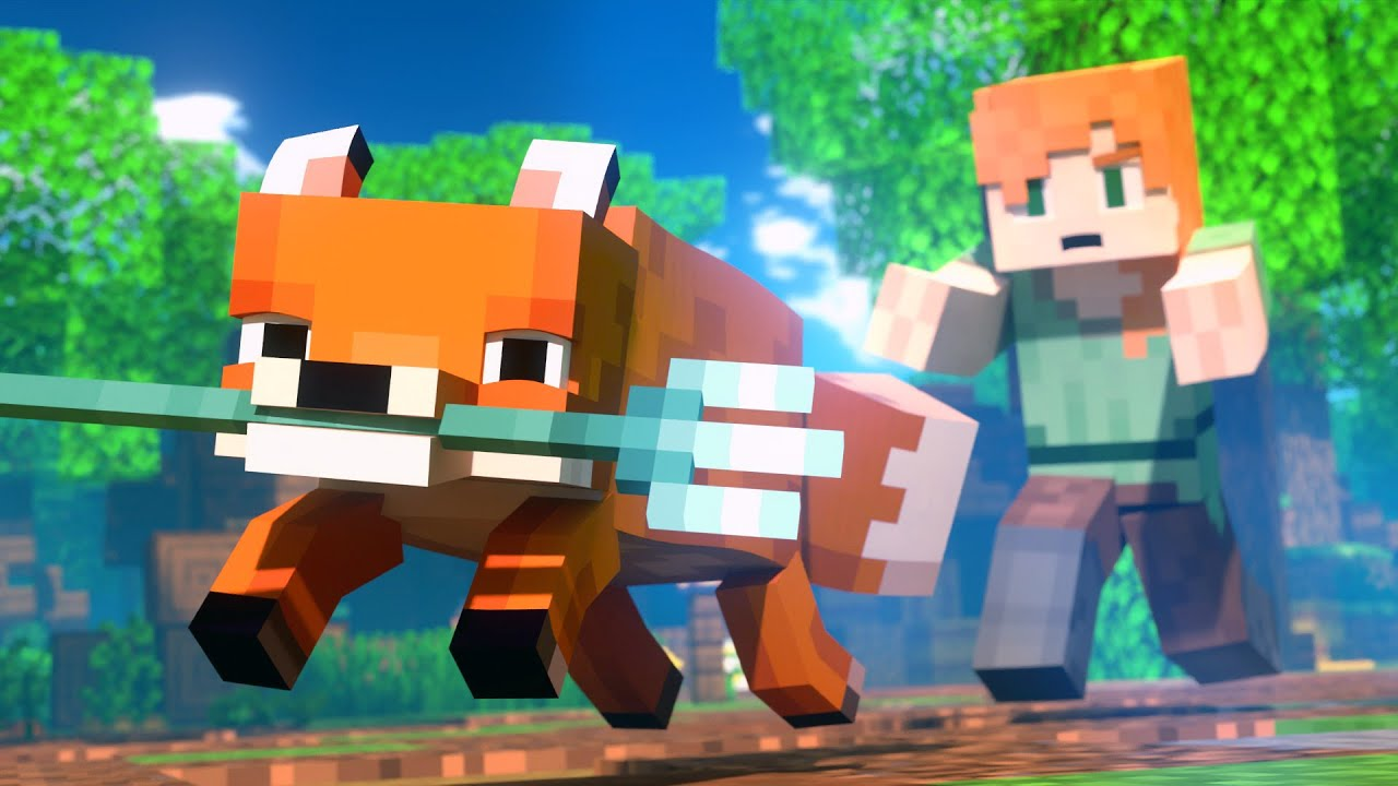 FOX THIEF - Alex and Steve Life (Minecraft Animation)