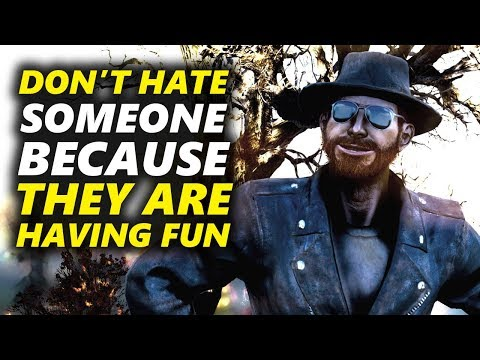 WHY DO I CARE ABOUT FALLOUT 76 ? DON'T HATE YOUR FELLOW GAMERS!