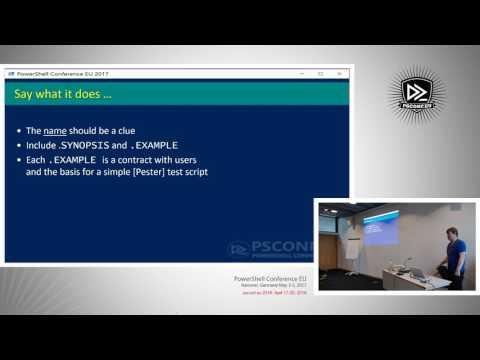 What Makes a Good Shared PowerShell Module - James O'Neill