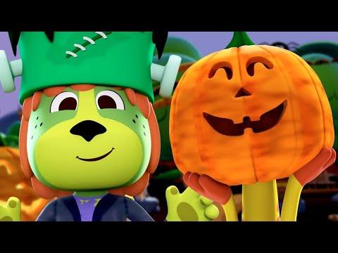Noche de Brujas - Halloween con Canciones del Zoo | El Reino Infantil