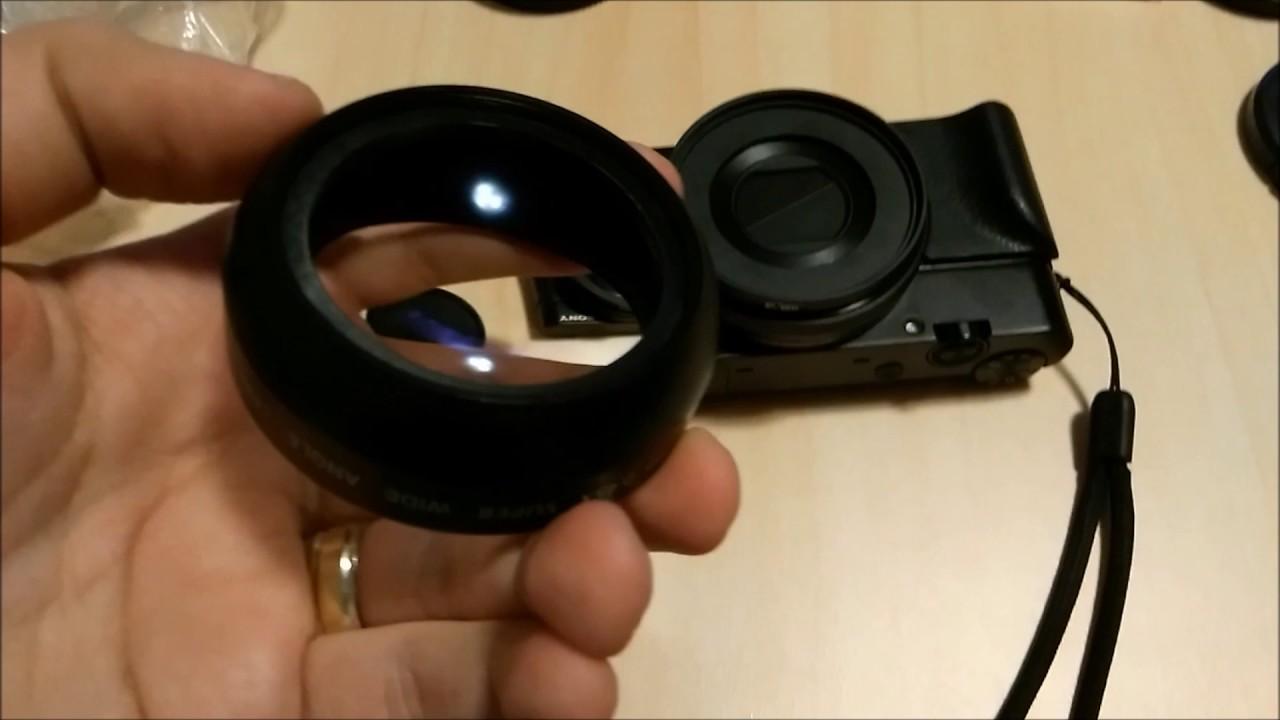 SONY RX100 V (m5) // Запись видео // Первый взгляд // Экспресс .