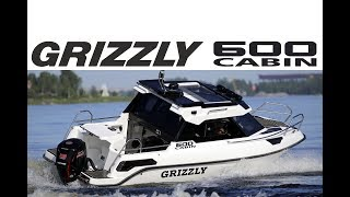 Катер GRIZZLY 600 Cabin