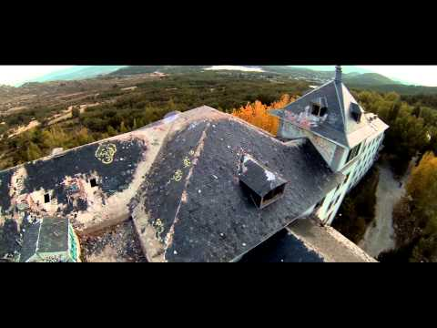 La Barranca Hospital abandonado misterio Madrid Hospital abandoned mystery video aereo drone