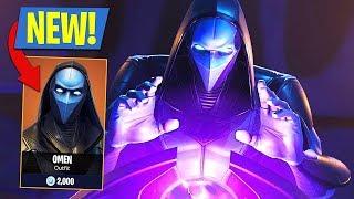 """🔴 Live, NEW FORTNITE - It's THE NEW SKIN LEGEND """"OMEN""""!! - (Fortnite Battle Royale)"""