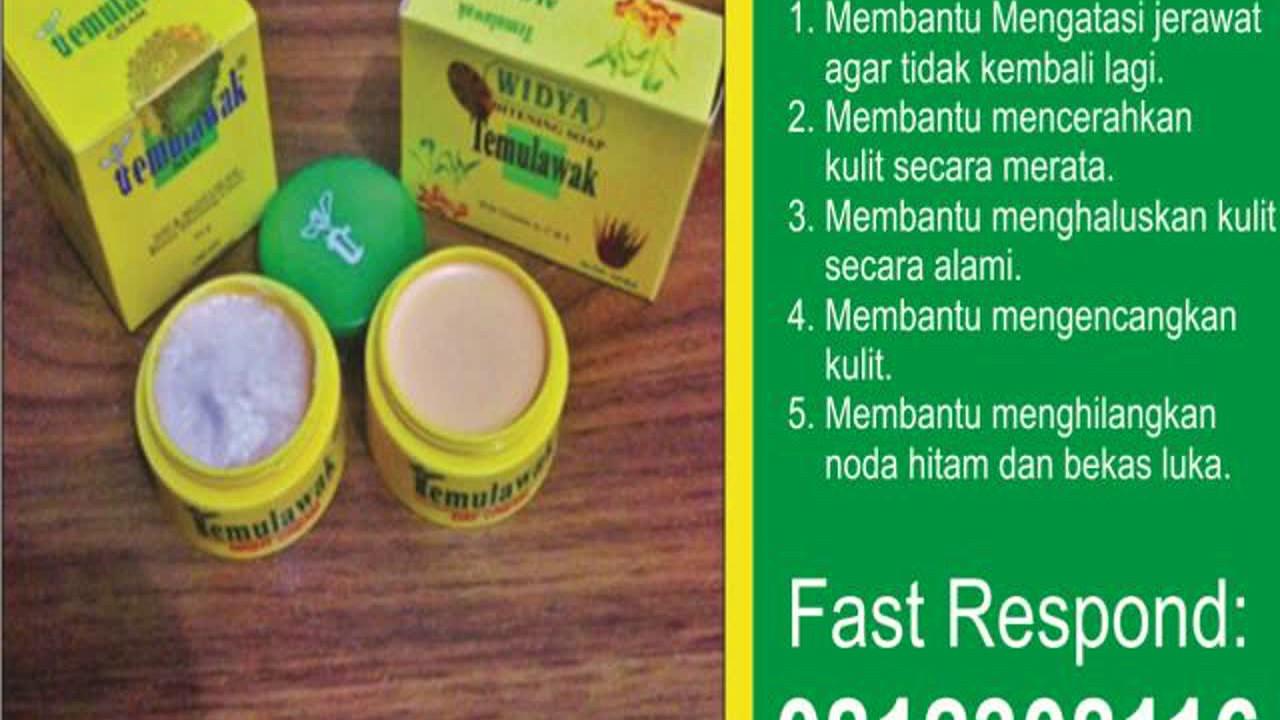 Paket Cream Temulawak Lengkap, Cara Untuk Memutihkan Wajah ...