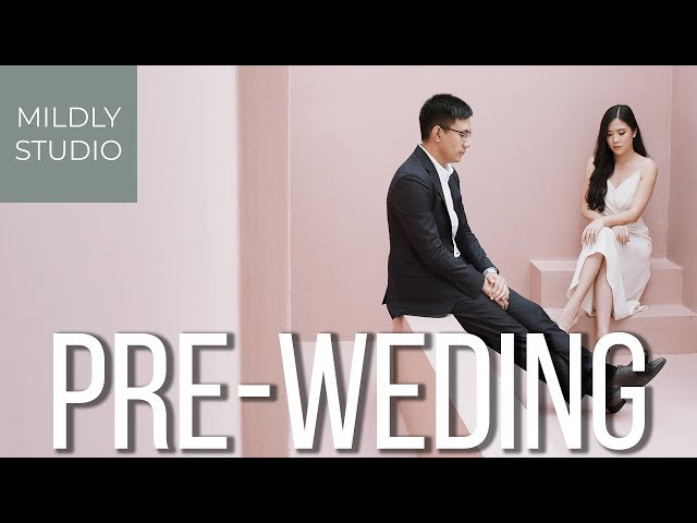 Pre Wedding album โดย Mildly Studio