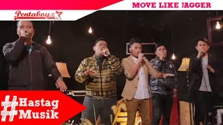 "PENTABOYZ ""Move Like Jagger"" Maroon 5 (Acapella cover) #hastagmusik"