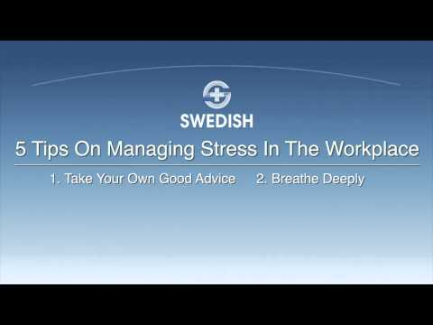 How to Reduce Stress in the Workplace