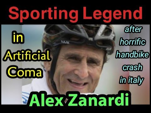 Alex Zanardi in medically induced coma after horrific crash in Italy