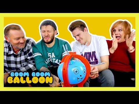 BOOM BOOM BALLOON CHALLENGE! (Family Edition)