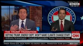 Anthony Scaramucci Compares Climate Change To Flat Earth Theory