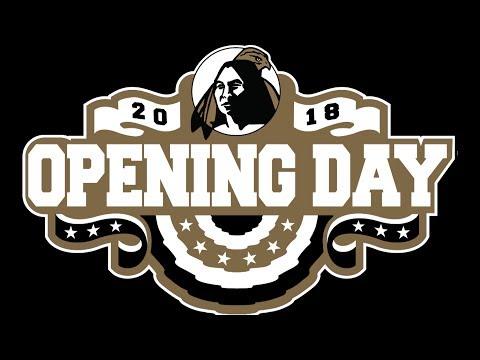Braves Field of Dreams, Baseball Opening Day, Feb. 2