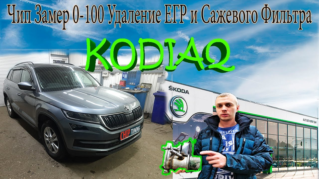 Skoda Kodiaq ЕГР Чип Тюнинг Ремонт на 300000+ Отказ в Гарантии