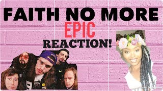 Faith No More- Epic REACTION!!! Girl Reacts To Metal
