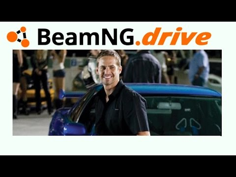 BeamNG drive: PAUL WALKER SALTANDO O GRAND CANYON