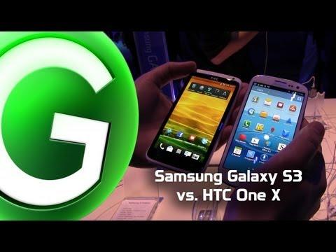Samsung Galaxy S3 vs HTC One X - GIGA.DE
