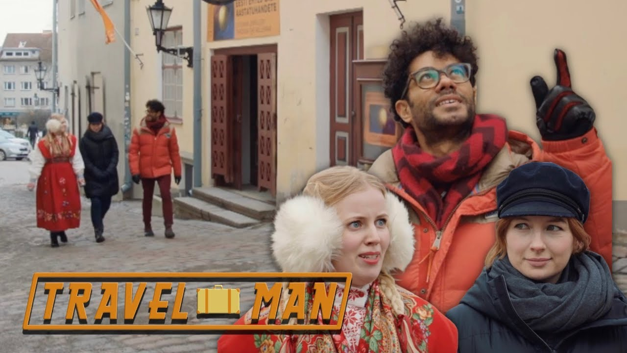Richard Ayoade & Alice Levine's Walking Tour | Travel Man: 48hrs in...Tallinn