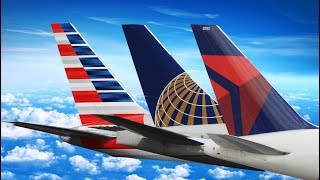 UNITED vs AMERICAN vs DELTA ECONOMY CLASS | Economy Week Trailer