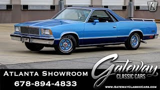 1978 Chevrolet el Camino - Gateway Classic Cars of Atlanta #1122