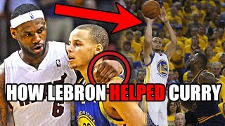 How LeBron James HELPED Stephen Curry Become An NBA Star (Ft. UNBELIEVABLE History & Trash Talk)