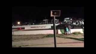 Street outlaws Daddy Dave Crash in Texas  2 Angles
