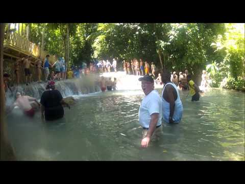 Dunn's Falls Dip in Jamaica