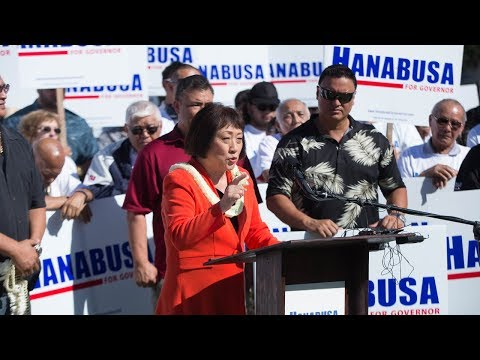 Colleen Hanabusa Launches Campaign For Governor Of Hawaii