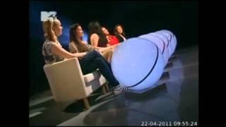 Лена Третьякова в передаче Свободен на MTV (21.04.2011)