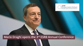 Third esrb annual conference: welcome address: mario draghi