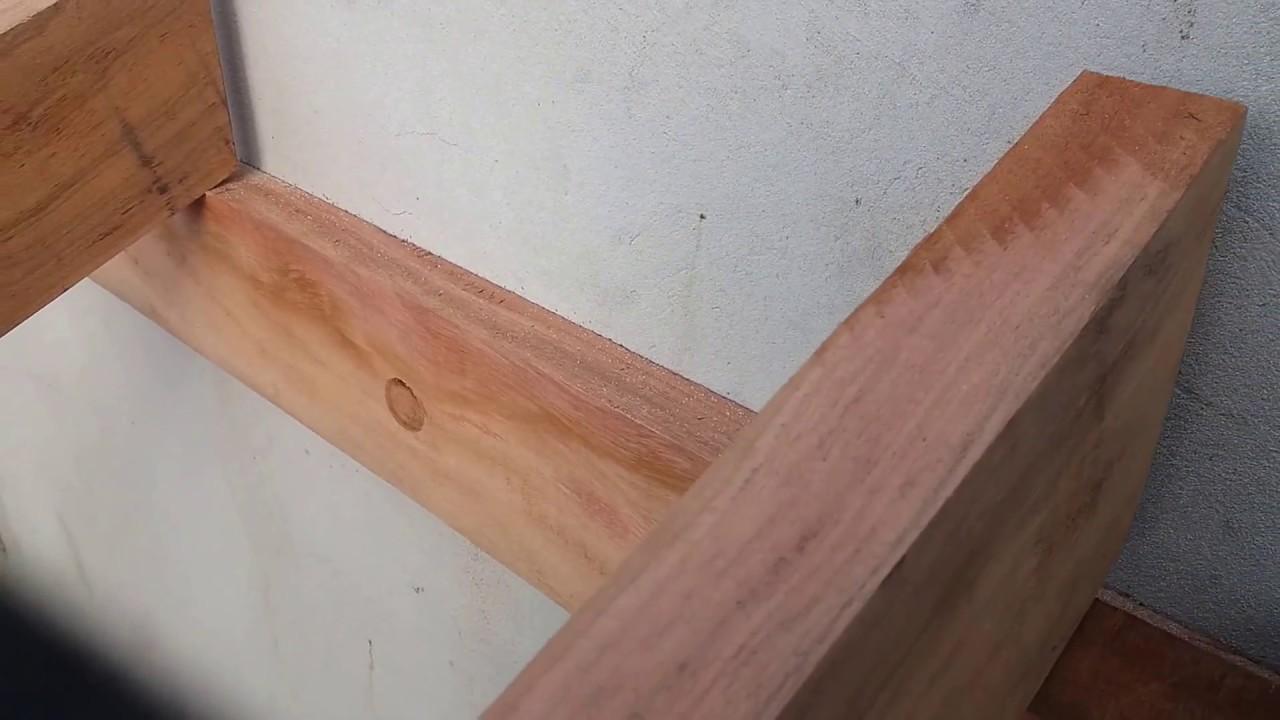 Como colocar taboa de acabamento em inicio e final dos - Como colocar vigas de madera ...