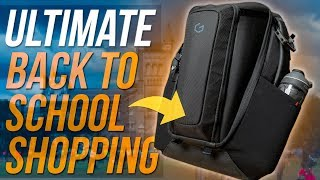 ULTIMATE Back To School Shopping! - What's In My College Bag Ep. 13 - System G Carry+ 17 Review